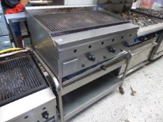 * Archway 3 burner charcoal grill including stand. (900Wx700Dx1000H)