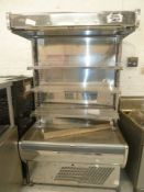 * Synecore display chiller 4 tier grab and go, very good condition.(1200Wx2000Hx810D)
