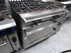 * Chieftain 4 burner single oven - mint condition from national chain. List price £5500. (