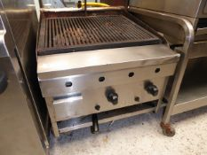 * Archway 2 burner charcoal grill. (600Wx700Dx500H)