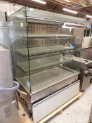 * Synecore display chiller 4 tier grab and go, very nice condition.(1290Wx1710Hx780D) direct from