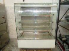 * Synecore display chiller 4 tier grab and go, very good condition.(1290Wx1710Hx780D)