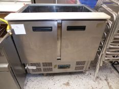 * Polar saladette chiller . Tested - working. (900Wx700Dx900H)