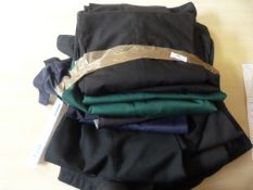 Ten Trousers (Various Colours and Sizes)