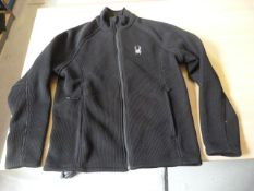*Spyder Foremost Full Zip Jacket Size: M