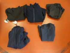 Five Jackets (Various Colours and Sizes)