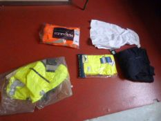 Five Assorted Items of Hi-Vis Clothing