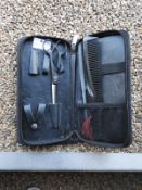 *Hairdressers Set Comprising of Thinning Scissors and Two Cones