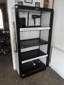 *GHD Four Tier Open Shelf Unit
