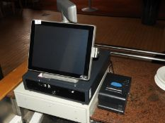 *Touch Screen Varipos EPOS System with Sam 4S Thermal Printer and Cash Drawer