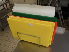 *Seven Coloured Chopping Boards