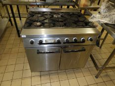 *Falcon Six Burner Cooker over Oven
