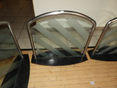 *Stainless Steel & Plate Glass Screen
