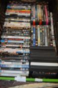 Quantity of DVDs