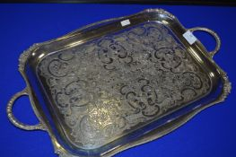 Silver Plated Tray by Viners of Sheffield