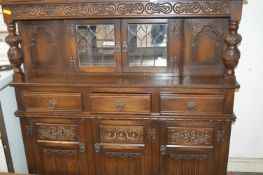 Three Drawer, Three Door Sideboard with Cabinet To