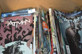 Collection of Batman Comics and Marvel Thunderbolt