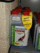 5x 500ml of Cloverleaf Chlorine Answer Water Conditioner