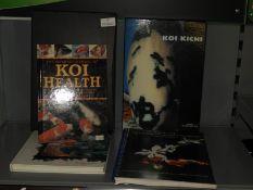 Five Books on Koi; Health, Diagnostics and Treatment, etc.