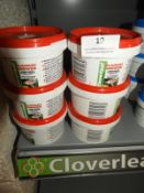 Six Containers of Cloverleaf Blanket Answer (to treat up to 2500L)