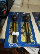 Two Pond Thermometers