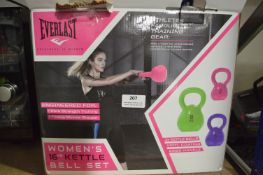 *Everlast Women's 16kg Kettle Bell Set