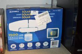 *Sunforce 1500 Lumen Solar Light