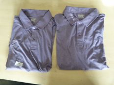 *32° Cool Size: L Purple Short Sleeve Polo Shirt 2