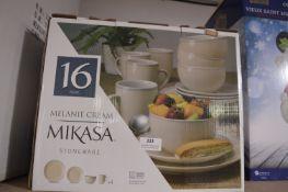 *Mikasa Melanie Cream 16pc Dinner Set