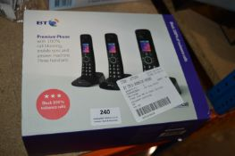 *BT Trio Premium Phone Set