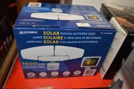 *Sunforce Solar Motion Light