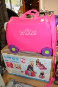 *Trunki Ride-On Suitcase