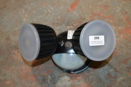 *LED Twin Security Light