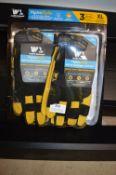 *Hydrahyde Leather Work Gloves 2pk Size: XL