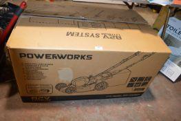 *Powerworks 82v Lithium Cordless Lawnmower