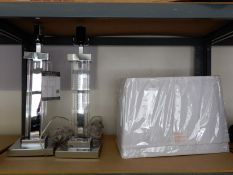 *Bridgeport Designs Table Lamp 2pk