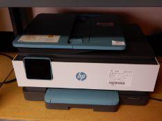 *HP Office Jet 8015 Aio Printer