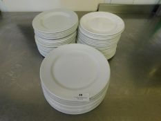 * Assorted Crockery side plates approx 50 items