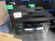* Hp laser jet printer M1212 - with cartridge and cable