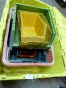 *Quantity of Plastic Storage Bins and Boxes