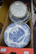 Assorted Plates and Dishes