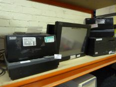 *Two Till Receipt Printers with Touchscreen Monito