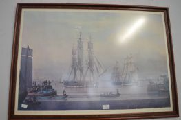 Framed Print of The William Lee, Humber Dock, Hull