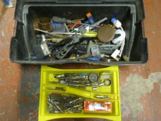 Toolbox with Quantity of Tools and Fittings