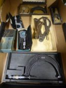 *Box of Micrometers and Dividers