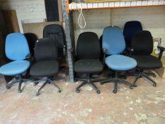 *Ten Office Chairs