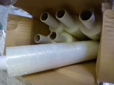 *Six 400mm x 300m Rolls of Clear Stretch Wrap