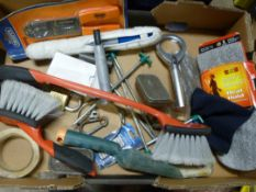 *Miscellaneous Box Including Crimping Pliers, Magn