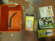 Spark Plug Cleaner, Timing Light, Tachometer Teste