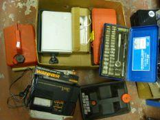 Box Including 3-in1 Pressure Gauge, Toolboxes, Pet